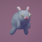 3d renegades of phong digital art character rabbit